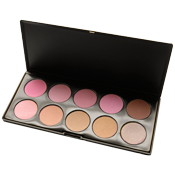 10-Color Blush Palette